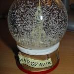 Neige sur Varsovie
